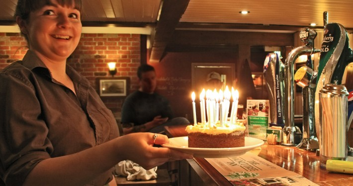 A Birthday at the Wanut Tree Inn