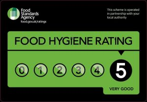 The Walnut Tree Mere Food Hygiene Rating 5