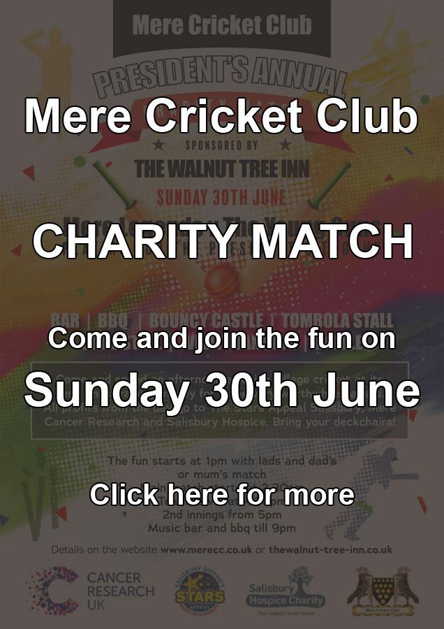 Mere CC Charity Match