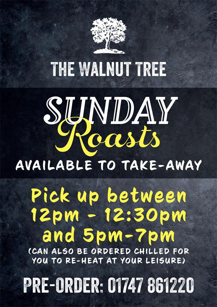 Walnut Sunday Roast